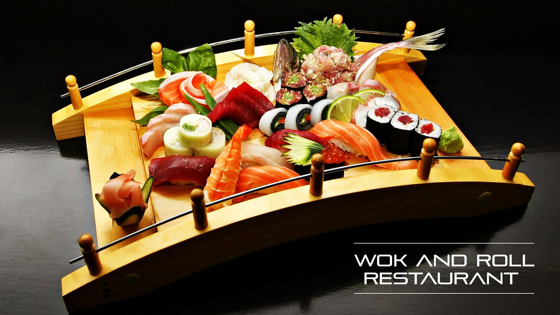 Restaurant, Serving the best of Japanese and Chinese cuisine.